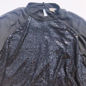 ASOS CURVE 20 Sequin top